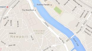 Map of Newport