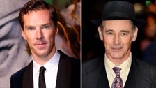 Benedict Cumberbatch and Mark Rylance