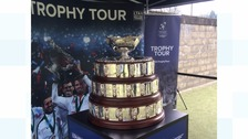 The Davis Cup visits the Borders