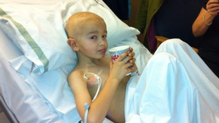 Reece Nelson who died from a brain tumour when he was 8
