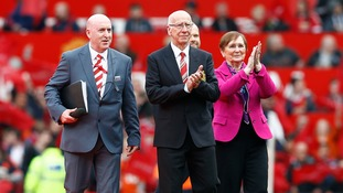 Sir Bobby and his wife were present for the unveiling today