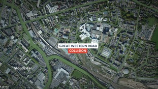 The collision happened on Great Western Road