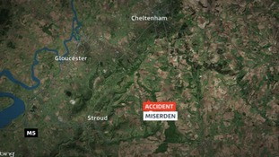 The incident happened at a farm at Miserden