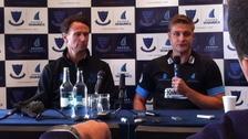 SCCC Head Coach Mark Davis & Captain Luke Wright