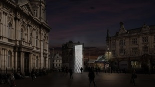 Council submits 'Shadow Gate' sculpture planning application