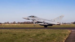 German Air Force based at RAF Coningsby during March training