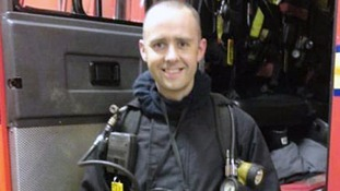 Firefighter killed tackling blaze sparked by discarded cigarette, inquest hears