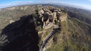 Civita: The Italian cliff-top town slowly eroding away