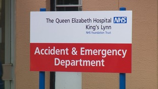 The Queen Elizabeth Hospital has cancelled 98 planned operations.