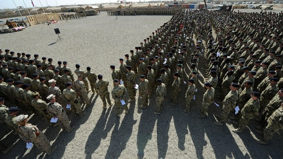 Camp Bastion is the main British military base in Afghanistan