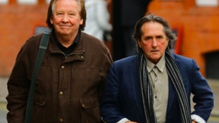 Richard Westwood (left) and Leonard Hawkes, former members of the 1960's band The Tremeloes