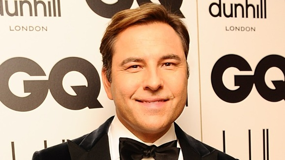 Comedian David Walliams.