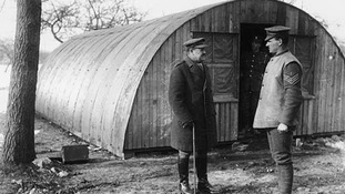 Nissen huts were invented 100 years ago by a Canadian engineer in the British Army.