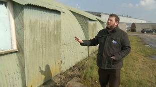 Archaeologist Martin Cuthbert says it's amazing that 'temporary' huts still survive 70 years later.