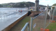 Repairs to Teignmouth sea wall completed