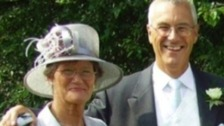 Roger Freeman with his wife Glynis