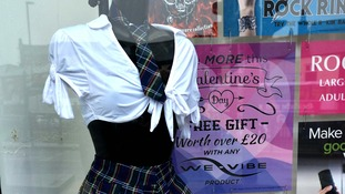 Some have deemed the 'schoolgirl' outfit 'inappropriate'