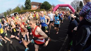Runner dies after collapsing at Wilmslow Half Marathon