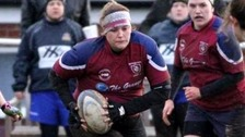 Grace Matthews was so badly injured by a rugby tackle she had to have her leg amputated