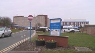 The University Hospital of Hartlepool.