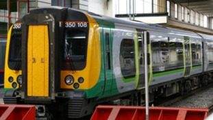 Train services back up and running