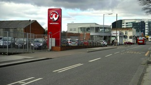 The Vauxhall dealership in Spon Lane