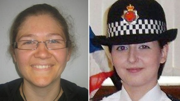 Fiona Bone, 32, and Nicola Hughes (right), 23, who were killed on Tuesday.