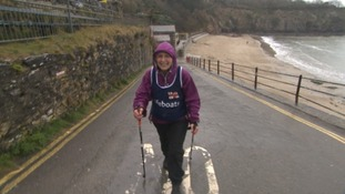 Action Nan Pat Smith will take on 300 gruelling miles of the South West coastal path
