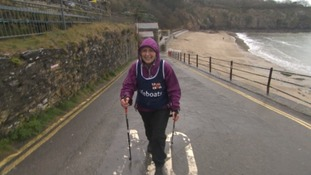 Action Nan Pat Smith will take on 300 gruelling miles of the South West coast path