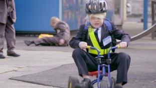 Politicians including Boris Johnson and David Cameron are turned into children in new Green Party advert
