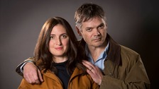 Helen Archer played by Louiza Patikas and Rob Titchener played by Timothy Watson