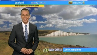 Today's weather with Luke