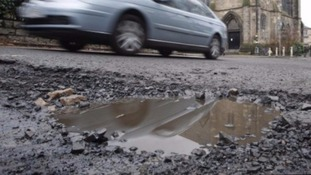 There's been widespread pothole damage since Storm Desmond hit the county in December
