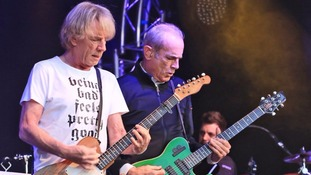 Status Quo performed in Dumfries in June 2015