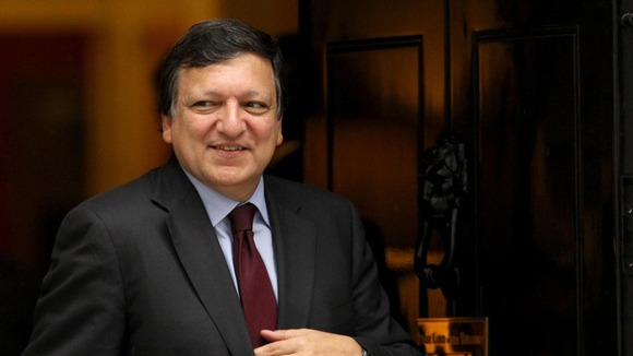 President of the European Commission Jose Manuel Barroso leaves No.10 Downing Street after talks with Prime Minister David Cameron last year