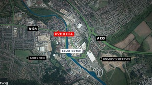 The incident happened in Colchester.
