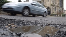 Nearly one million potholes are to be repaired in England over the next 12 months
