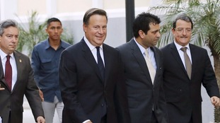 President Juan Carlos Varela said a panel of experts would examine his country's financial practices