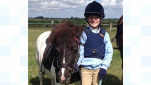 Bonnie Armitage: horse pictures shared online in tribute to nine year old who died in riding accident