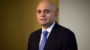 Mr Javid is on his way back to South Wales to meet steelworkers