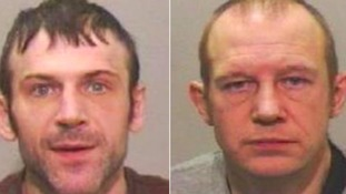 Two men have been jailed for burglaries on South Tyneside