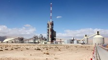 The Al Badia Cement plant
