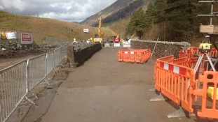 The A591 will re-open on May 13th