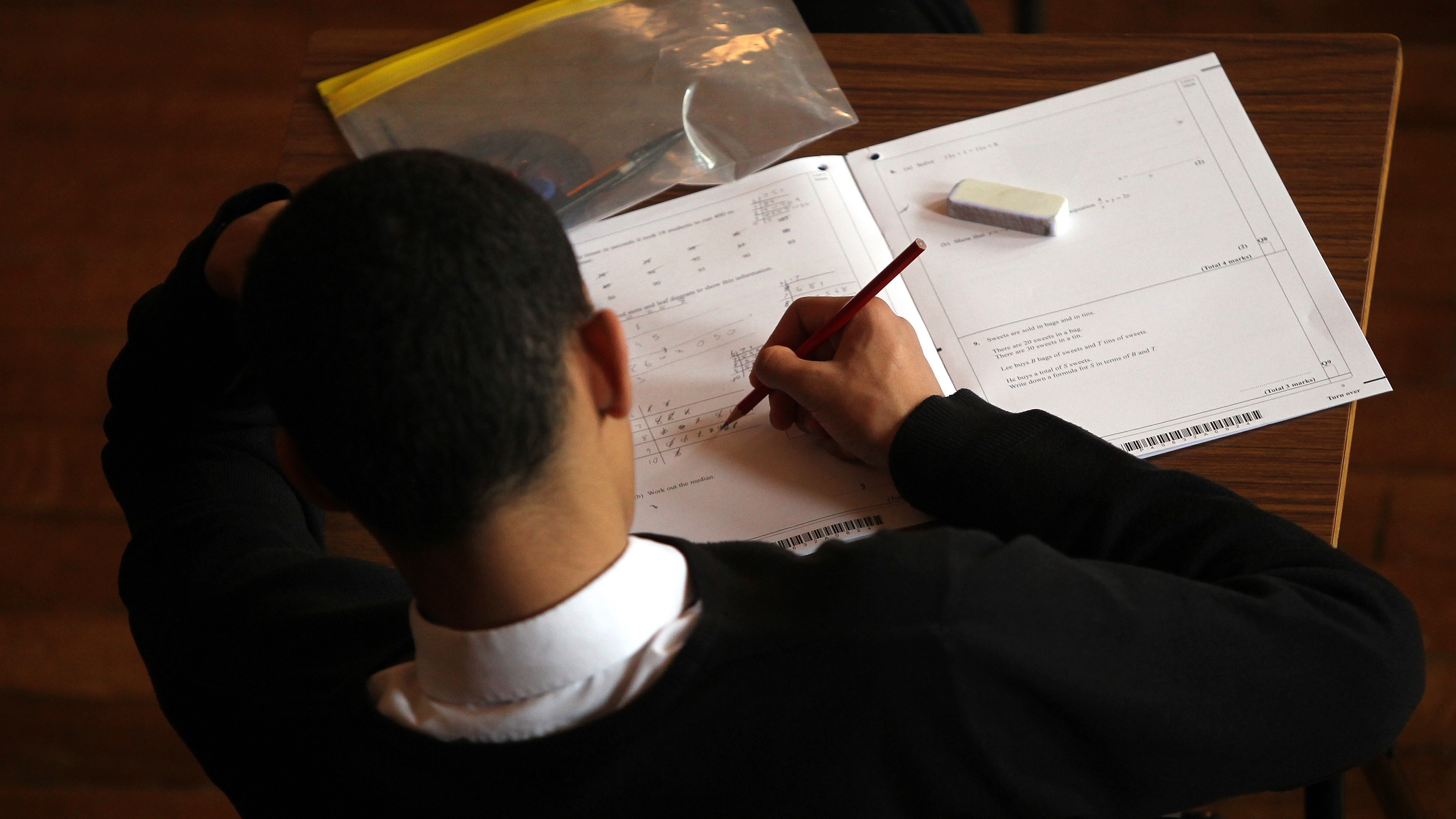 Would it be possible to get an A* in GCSE Maths without doing well on coursework?
