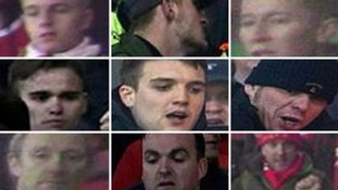 Pictures: Fans sought after Manchester United v Liverpool crowd violence