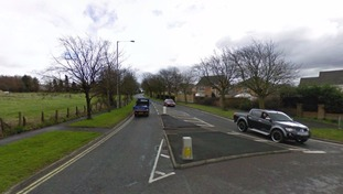 Ridge Avenue in Burnley, at the junction with Queen's Park Road