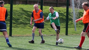 Walking footballers boot up for Borders festival