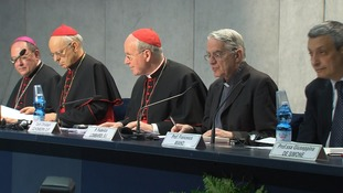 The Synod of Bishops presented the Pope's comments on the family and marriage.