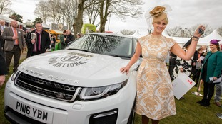 Ladies' Day 'Best Dressed' wins Range Rover