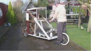 Inventor creates alternative to the home gym